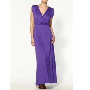 Trina Turk Maxi Devotion Dress - Purple